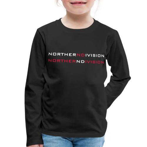 nd bankgot 2vari - Lasten premium pitkähihainen t-paita