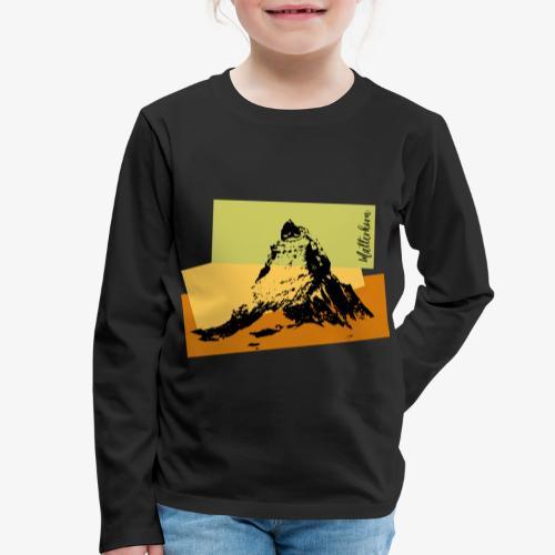 Matterhorn - Kids' Premium Longsleeve Shirt