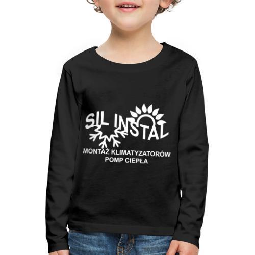 sil instal - Koszulka dziecięca Premium z długim rękawem