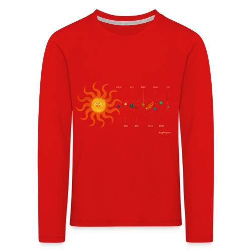 Solar System - Kids' Premium Longsleeve Shirt