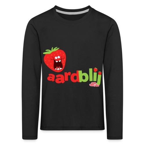 aardblij - Kinderen Premium shirt met lange mouwen