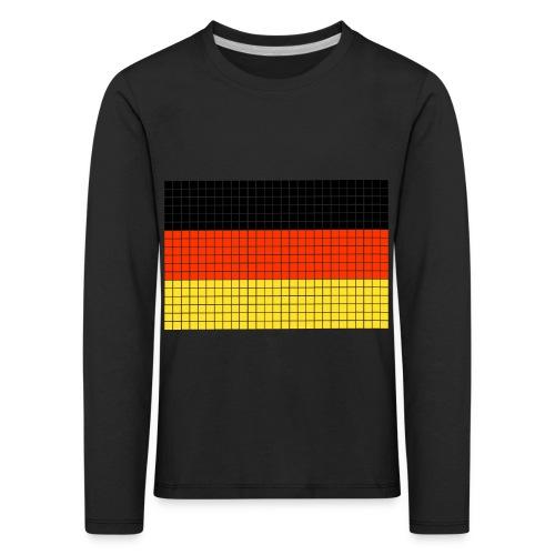 german flag.png - Maglietta Premium a manica lunga per bambini