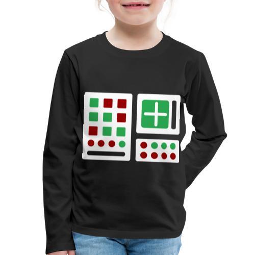 Classic Computer 2 - Kinder Premium Langarmshirt