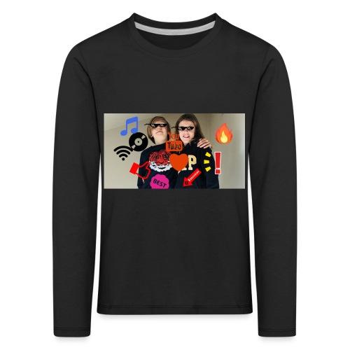 Coolrockskingen och Jojo - Långärmad premium-T-shirt barn