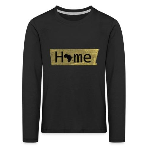 home in africa - Kinder Premium Langarmshirt