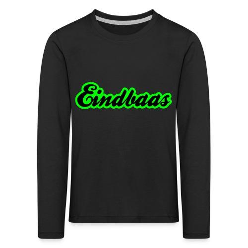 eindbaas upload - Kinderen Premium shirt met lange mouwen
