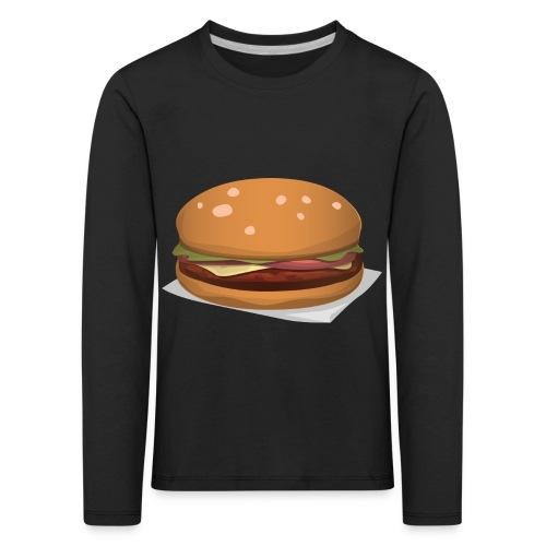 hamburger-576419 - Maglietta Premium a manica lunga per bambini