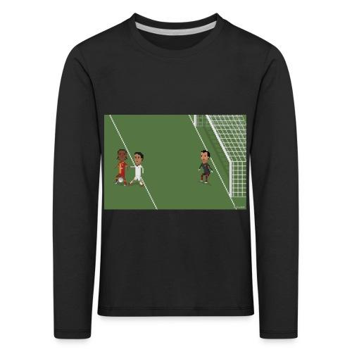 Backheel goal BG - Kids' Premium Longsleeve Shirt