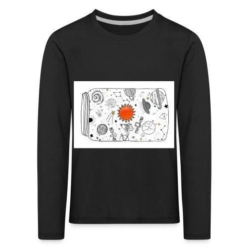 cosmos - Kinder Premium Langarmshirt