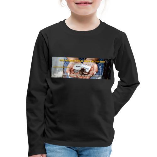 BIW-Cover - Kinderen Premium shirt met lange mouwen