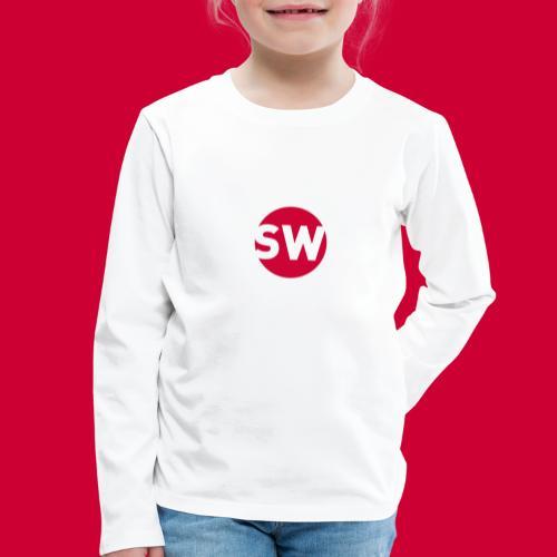 #Schiphol - krimpen of verhuizen! - Kinderen Premium shirt met lange mouwen