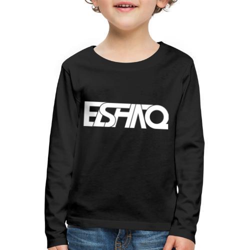 elshaq white - Kids' Premium Longsleeve Shirt