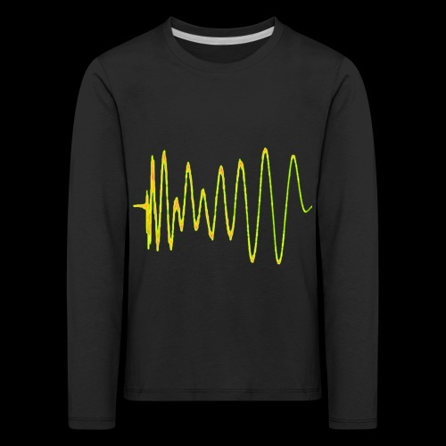 Boom 909 Drum Wave - Kids' Premium Longsleeve Shirt