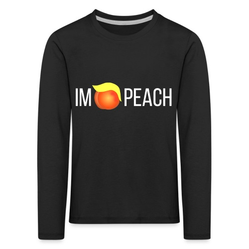 IMPEACH / Light Unisex Hoodie Sweat - Kids' Premium Longsleeve Shirt