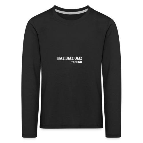Techno - Kinder Premium Langarmshirt