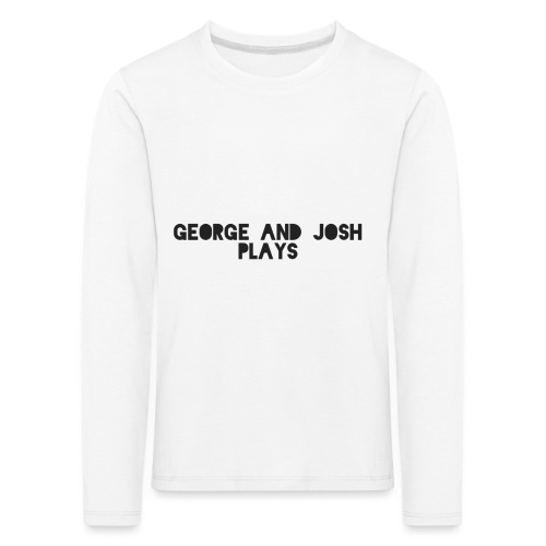 George-and-Josh-Plays-Merch - Kids' Premium Longsleeve Shirt