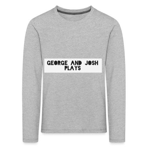 George-and-Josh-Plays-Merch - Kids' Premium Longsleeve Shirt