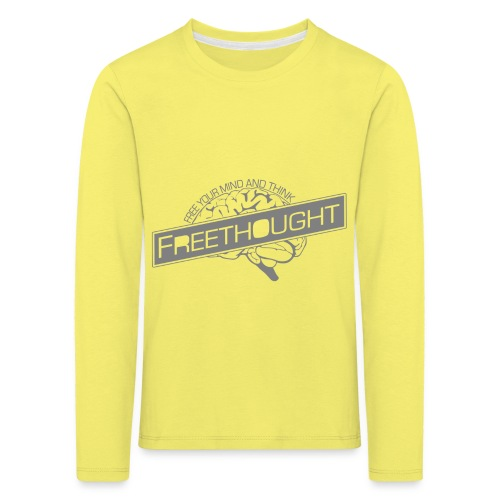 Freethought - Kids' Premium Longsleeve Shirt