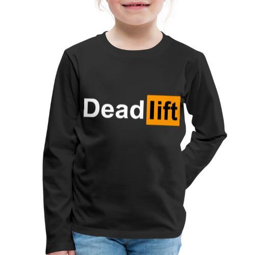 DeadLift X - T-shirt manches longues Premium Enfant