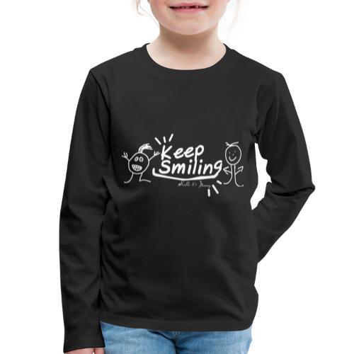 Keep Smile Kalle&Jimmy - Kinder Premium Langarmshirt