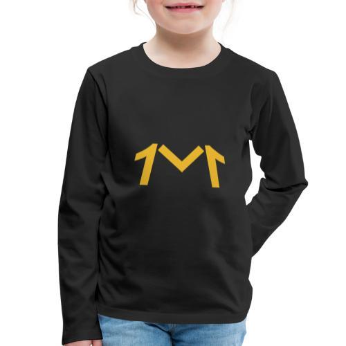 1M, LE LOGO DE L'UNIVERS - T-shirt manches longues Premium Enfant