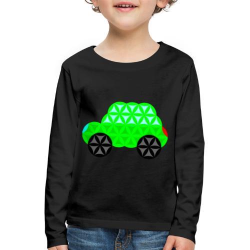 The Car Of Life - M01, Sacred Shapes, Green/R01. - Kids' Premium Longsleeve Shirt