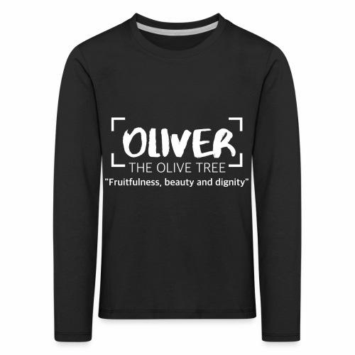 oliver - Lasten premium pitkähihainen t-paita