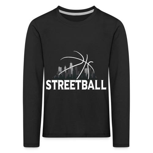 Streetball Skyline - Street basketball - Kids' Premium Longsleeve Shirt