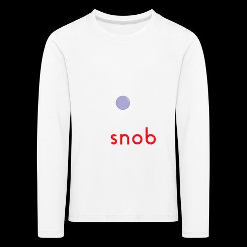NUOVO3 png - Kids' Premium Longsleeve Shirt