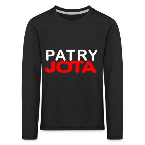 Patryjota - Koszulka dziecięca Premium z długim rękawem