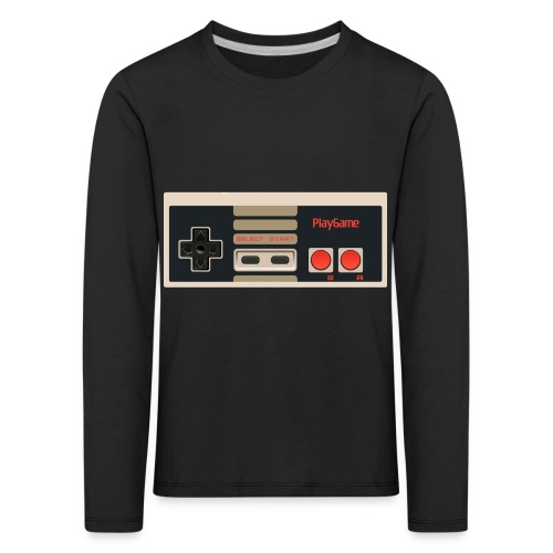 Gaming - Långärmad premium-T-shirt barn