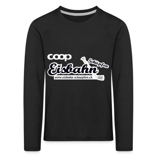 Coop-Eisbahn Schüpfen invertiert - Kinder Premium Langarmshirt