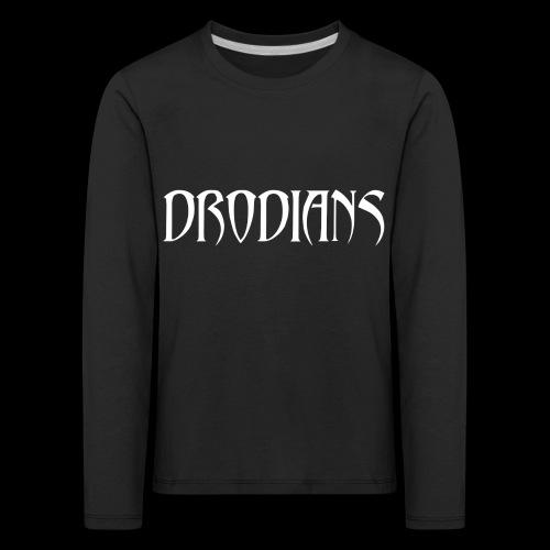 DRODIANS WHITE - Kids' Premium Longsleeve Shirt