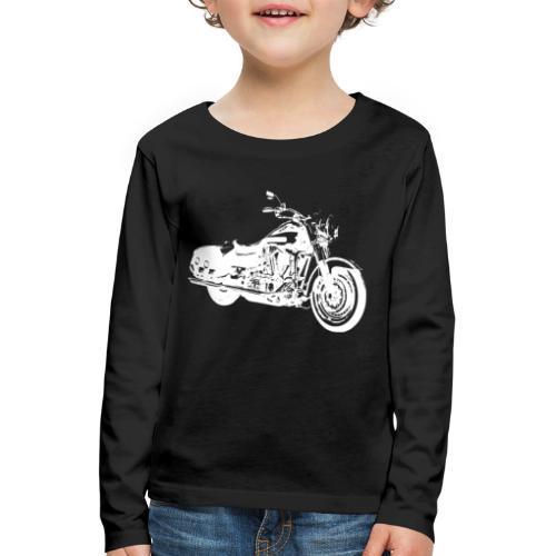 VINTAGE Motorrad - Kinder Premium Langarmshirt