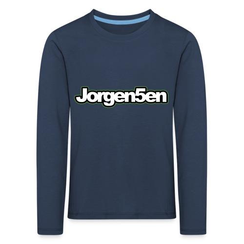 tshirt - Børne premium T-shirt med lange ærmer