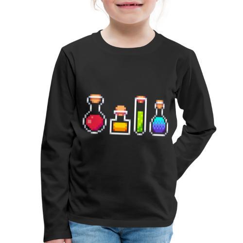 RPG Potions - Børne premium T-shirt med lange ærmer