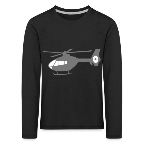 ec135svg - Kinder Premium Langarmshirt