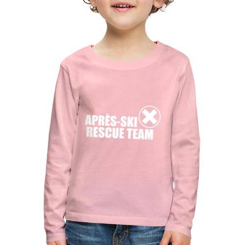 APRÈS SKI RESCUE TEAM 2 - Kinderen Premium shirt met lange mouwen