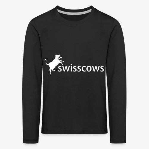 Swisscows - Logo - Kinder Premium Langarmshirt