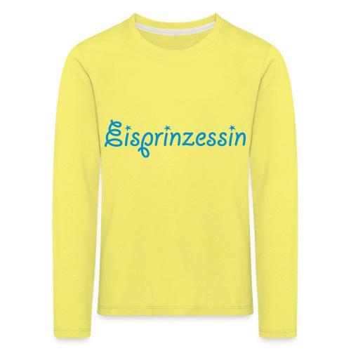 Eisprinzessin, Ski Shirt, T-Shirt für Apres Ski - Kinder Premium Langarmshirt