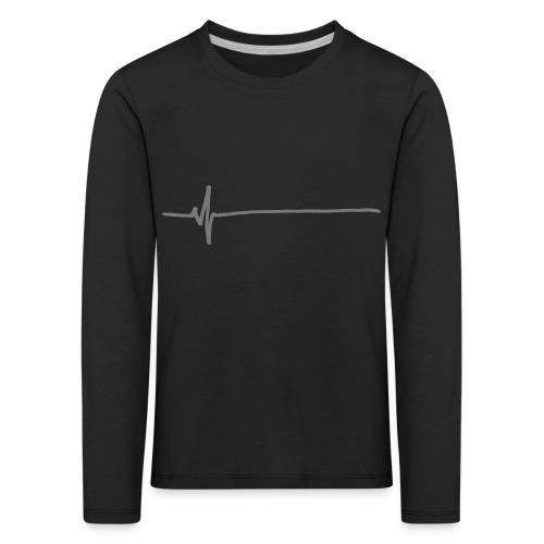 Flatline - Kids' Premium Longsleeve Shirt