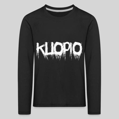 Kuopio - Lasten premium pitkähihainen t-paita