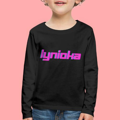 Lynioka Logo 2 - T-shirt manches longues Premium Enfant