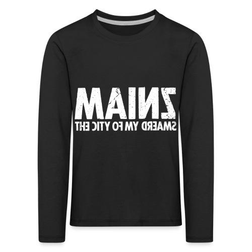 Mainz (white oldstyle) - Kinder Premium Langarmshirt