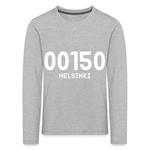 00150 HELSINKI - Lasten premium pitkähihainen t-paita