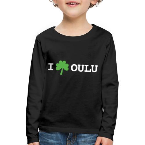 I shamrock Oulu - Classic Model - Lasten premium pitkähihainen t-paita