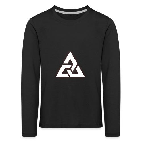 Großes Logo [JxsyFX] - Kinder Premium Langarmshirt