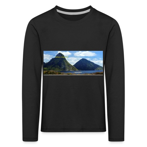 believe in yourself - Kids' Premium Longsleeve Shirt