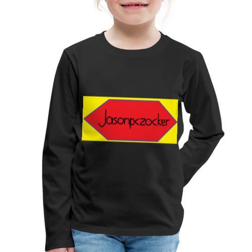 Jasonpczocker Design für gelbe Sachen - Kinder Premium Langarmshirt