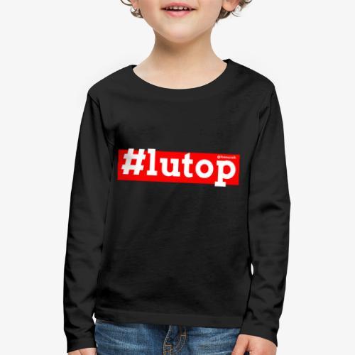 LuTop - Maglietta Premium a manica lunga per bambini